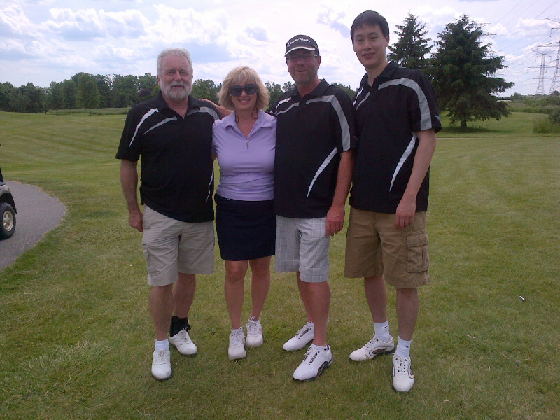 Jim, Sharon, Brian and Derrick